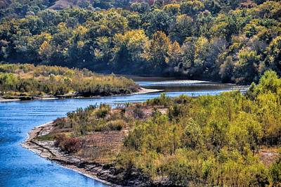 Photograph - Red River Bend by Diana Mary Sharpton