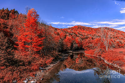 Photograph - Red River by Rick Bragan