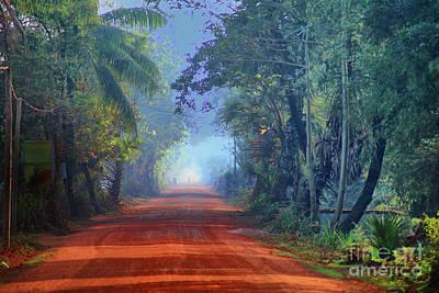 Photograph - Red Road by Rick Bragan