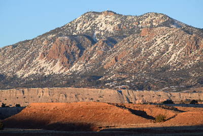 Red Rock Along 550 Art Print by Curtis Willis