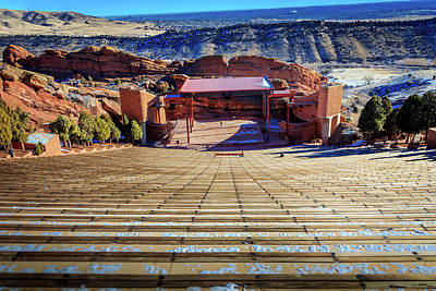 Photograph - Red Rock Amphitheater by Barry Jones