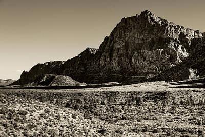 Photograph - Red Rock Anselized by Ricky Barnard