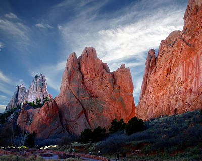 Photograph - Red Rock by Anthony Jones