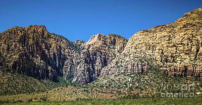Photograph - Red Rock Canyon #13 by Blake Webster