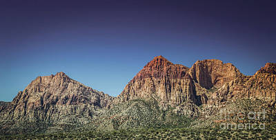 Photograph - Red Rock Canyon #19 by Blake Webster