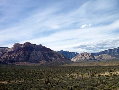 Photograph - Red Rock Canyon 4 by Anita Burgermeister