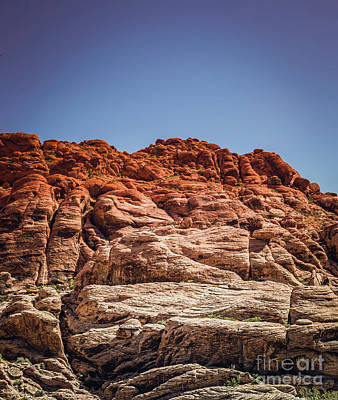 Photograph - Red Rock Canyon #4 by Blake Webster