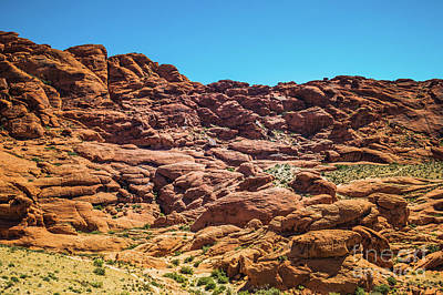Photograph - Red Rock Canyon #5 by Blake Webster