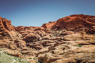 Photograph - Red Rock Canyon #6 by Blake Webster