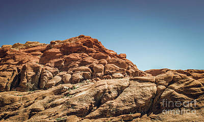 Photograph - Red Rock Canyon #7 by Blake Webster