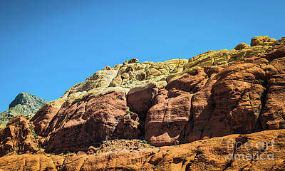 Photograph - Red Rock Canyon #8 by Blake Webster