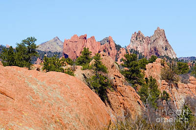 Photograph - Red Rock Canyon And The Garden by Steve Krull