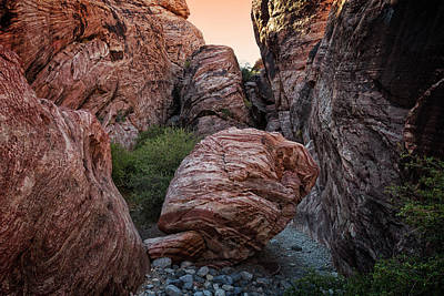 Photograph - Red Rock Canyon Iv by Ricky Barnard