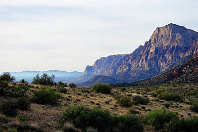 Photograph - Red Rock Canyon - Majestic View by Glenn McCarthy Art and Photography