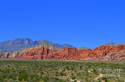 Photograph - Red Rock Canyon Nevada - 11 by Mary Deal