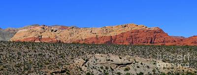 Photograph - Red Rock Canyon Nevada - 72 by Mary Deal