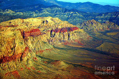 Photograph - Red Rock Canyon Nevada by James BO  Insogna