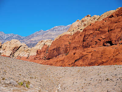 Red Rock Canyon Print by Rae Tucker