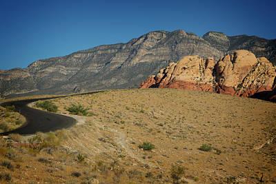 Photograph - Red Rock Canyon V by Ricky Barnard