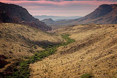 Photograph - Red Rock Canyon Vi by Ricky Barnard