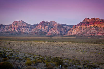 Photograph - Red Rock Canyon Xii by Ricky Barnard