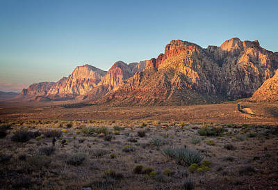 Photograph - Red Rock Canyon Xiv by Ricky Barnard