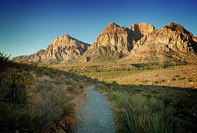 Photograph - Red Rock Canyon Xv by Ricky Barnard