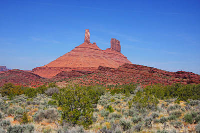 Photograph - Red Rock Castle Valley by Mark Smith