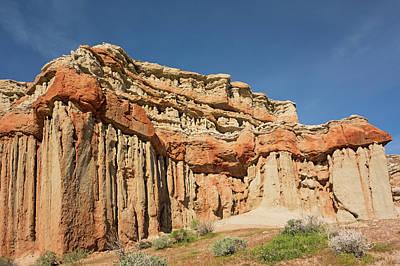 Photograph - Red Rock Columns by Loree Johnson