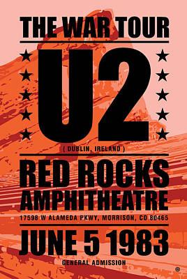 Digital Art - Red Rock Concert by Gary Grayson