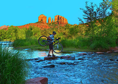 Red Rock Crossing Art Print by Brian Knott - Forget Me Knott Photography
