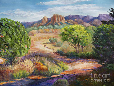 Painting - Red Rock Crossing by Diana Cox