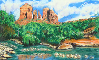 Painting - Red Rock Crossing by Michael Foltz