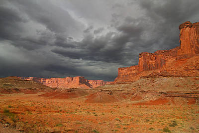 Photograph - Red Rock Desert Storm by Mark Smith