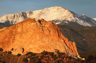 Cathedral Rock Photograph - Red Rock by Eric Glaser
