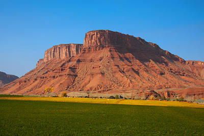 Photograph - Red Rock Farm by Mark Smith