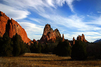 Photograph - Red Rock Formations by Anthony Jones