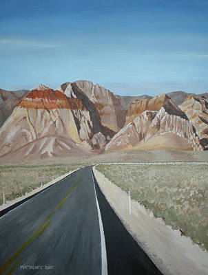 Painting - Red Rock Highway by Vincent Matheney