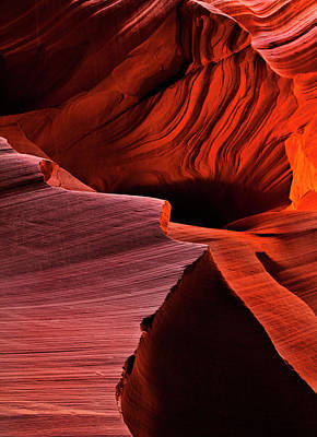 Inferno Photograph - Red Rock Inferno by Mike  Dawson