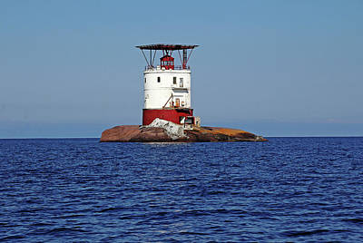 Photograph - Red Rock Lighthouse I by Debbie Oppermann