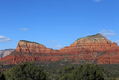 Photograph - Red Rock Loop Sedona 14 W Holy Cross by Mary Bedy