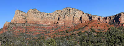 Photograph - Red Rock Loop Sedona 4 Panorama by Mary Bedy