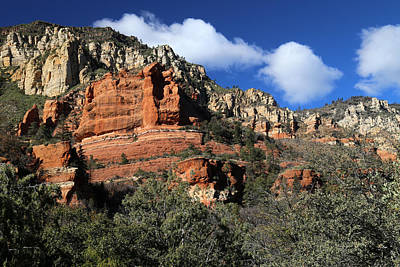 Photograph - Red Rock Loop Sedona 7 by Mary Bedy