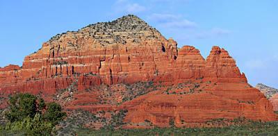 Photograph - Red Rock Loop Sedona Az Panorama 2 by Mary Bedy
