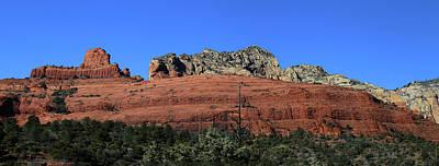Photograph - Red Rock Loop Sedona Az Panorama by Mary Bedy