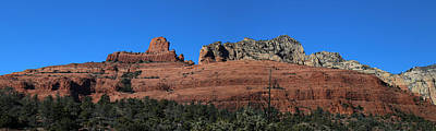 Photograph - Red Rock Loop Sedona Panorama by Mary Bedy