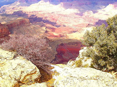 Art Print featuring the photograph Red Rock by Marna Edwards Flavell