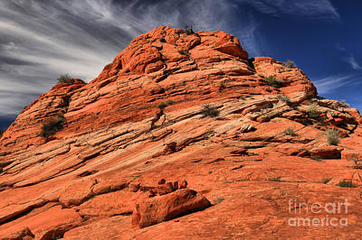 Photograph - Red Rock Mountainscape by Adam Jewell