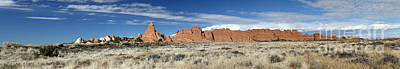 Photograph - Red Rock Panorama II by Mary Haber