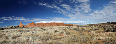 Photograph - Red Rock Panorama  by Mary Haber
